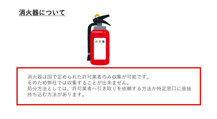消火器について